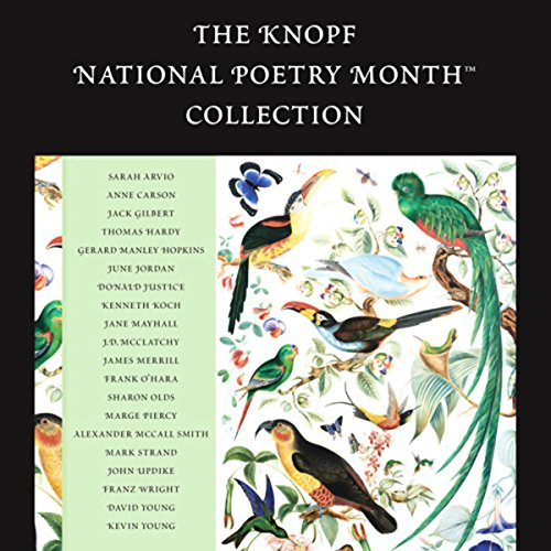 The Knopf National Poetry Month Collection  Audiolibri