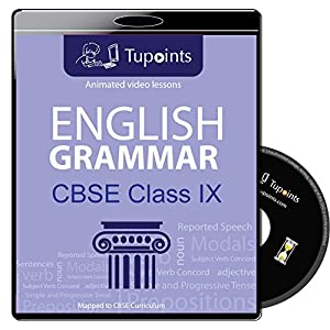 Cbse class 9 English grammar Multimedia Animated video lessons DVD/CD