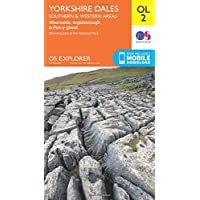 OS Explorer Map OL2 Yorkshire Dales South & Western