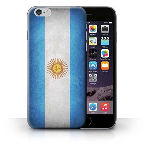 Hülle für iPhone 6+/Plus 5.5 / Schweiz/Swiss / Flagge Kollektion Argentina/argentinisch