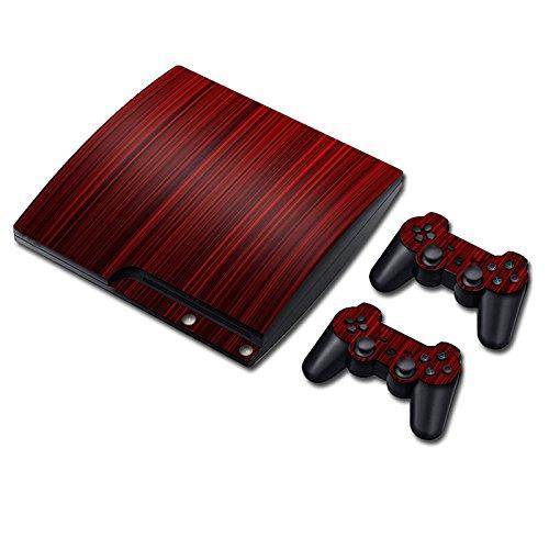 Preisvergleich Produktbild Laixing TN0875*Skin Sticker Cover fur PS3 PlayStation 3 Slim+2 Controllers
