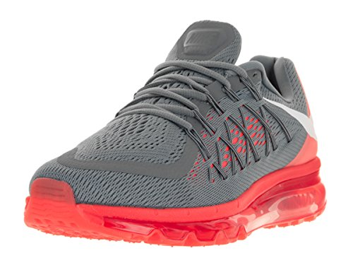 Air Max 2015 in esecuzione della scarpa da tennis COOL GREY/WHITE-BRIGHT CRIMSON