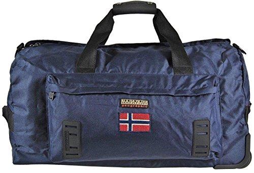 Borsa Borsone Trolley Napapijri Tracolla Uomo Men Bag Donna Viaggio Palestra n5z29 BLU
