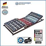 Ravensberger Matratzen Meditec Lattenrost | 5-Zonen-TPEE-Teller-Systemrahmen | Schichtholzrahmen| Elektrisch| MADE IN GERMANY - 10 JAHRE GARANTIE | TÜV/GS 100 x 200 cm