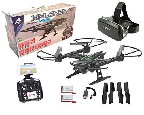 Drone radiocontrol camara Xplorer Wifi FPV + Gafas