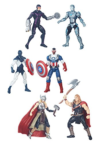 Marvel Legends Series 2016 Wave 1 assortiment packs 2 figurines et comic 10 cm (8)