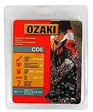 Ozaki - Catena per Motosega, Semi Quadrata, sotto scocca: 3/8'LP - .050 (1,3 mm), 55 Allenatori, Lunghezza: 40 cm