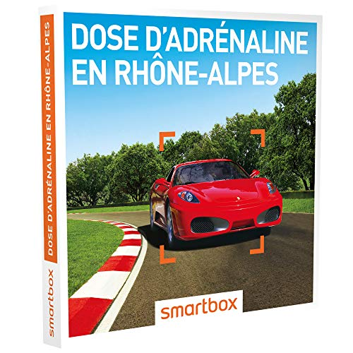 SMARTBOX - Coffret cadeau homme femme - Dose d'adrénaline en Rhône-Alpes - idée...