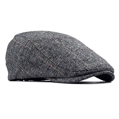 Besbomig Newsboy Casquillo Plano Sombreros Boinas