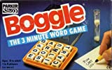 BOGGLE. THE 3 MINUTE WORD GAME. 1992 EDITION BY PARKER