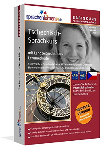 Sprachenlernen24.de Tschechisch-Basis-Sprachkurs: PC CD-ROM für Windows/Linux/Mac OS X +...