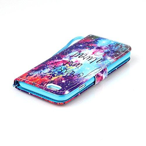 Meet de Apple iPhone 6 6S (4,7 Zoll) Bookstyle Étui Housse étui coque Case Cover smart flip cuir Case à rabat Apple iPhone 6 6S (4,7 Zoll) Coque de protection Portefeuille - éléphant ethnique foever and always
