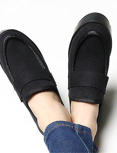 ShangYi Mode Frauen Schuhe Damen Stiefel Frühjahr / Herbst / Winter Schuhe / Stiefel Fleece Outdoor Blockabsatz Schnalle Schwarz Andere Schwarz