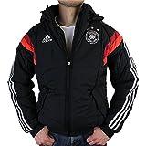 adidas Performance DFB Padded Jacket Jacke Herren Stadionjacke Fußballjacke Schwarz D82970, Größenauswahl:M