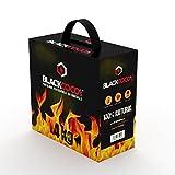 BLACKCOCO's | 4KG | Premium Kokosnuss Naturkohle für SHISHA & BBQ [Shisha Kohle] -