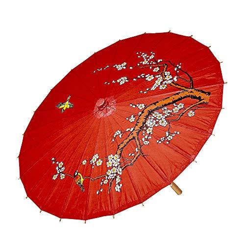 Preisvergleich Produktbild WIDMANN 66789 - Sonnenschirm aus Reispapier,  4 farbig Sortiert