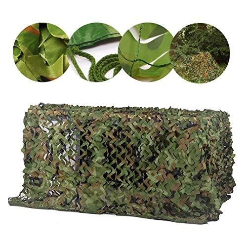 Armee Tarnnetz 2x3m Woodland Camo Shade Netting für Camping Military Jagd Schießen Blind Watch Bird Hide Sonnenschirm Party Halloween Weihnachtsschmuck, 2m 3m 4m 5m 6m 8m ( Size : 5x8M16.4x26.2ft) )