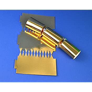 12 jet black make fill your own cracker boards diy christmas 12 gold foil make fill your own cracker boards diy christmas cracker crafts solutioingenieria Gallery