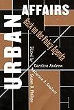 Urban Affairs: Back on the Policy Agenda