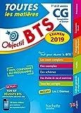 Objectif BTS CG 2019 Toutes les matières