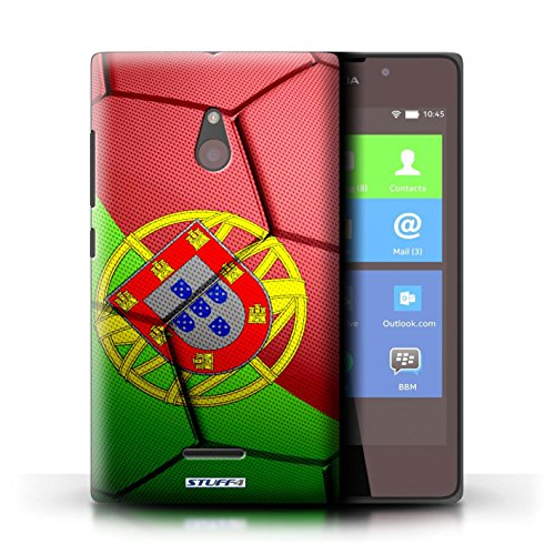 Kobalt® Imprimé Etui / Coque pour Nokia XL / Brésil/Brésilien conception / Série Nations de Football Portugal