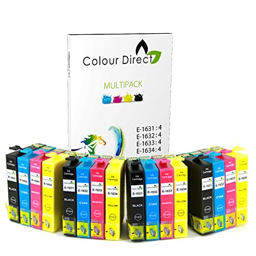 colour-direct-16-xl-ad-alta-capacita-compatibile-cartucce-dinchiostro-sostituzione-per-epson-workfor