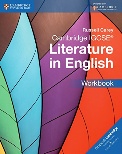 Cambridge IGCSE. Literature in english. Workbook. Per le Scuole superiori. Con espansione online