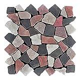 M-015 Marmor Bruchstein Mosaikfliesen mediterran Design Fliesen Lager Verkauf Stein-Mosaik Herne NRW