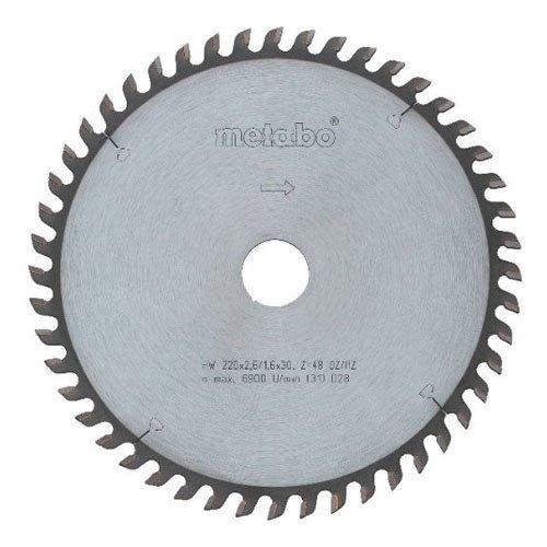 Preisvergleich Produktbild Metabo Kreissägeblatt HW/CT 190 x 20, 48 WZ 10 Grad , 628034000