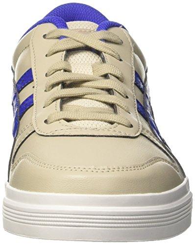 Asics Herren Aaron Sneaker Mehrfarbig (Feather Grey/blue)
