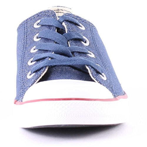 Converse  As Dainty Sheer Ox,  Damen Sneakers Blau - Bleu (Marine)