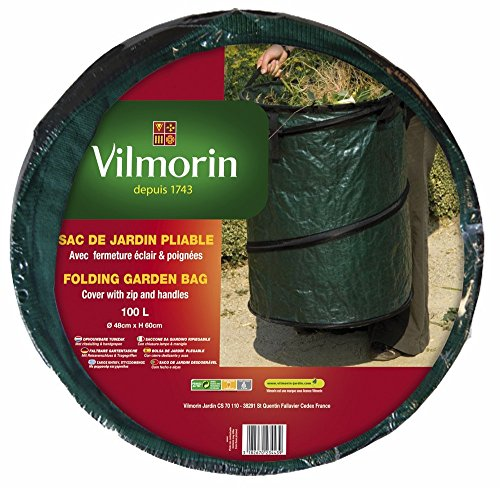 Vilmorin VI00101 Sac de Jardin Pliable Polypropylène 100 L 48 x 60 cm