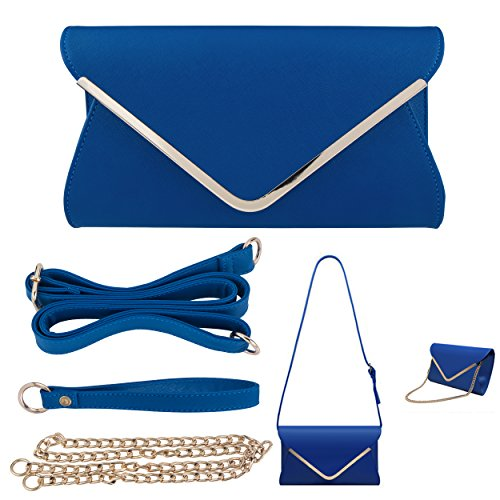 Bagood, Poschette giorno donna Royal Blue