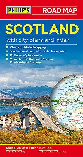 Philip's Scotland Road Map (Road Maps) por Philip's Maps