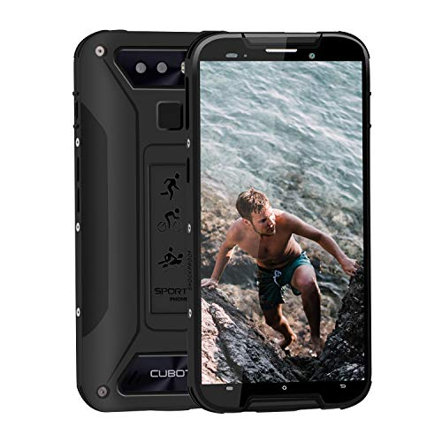 CUBOT Quest Lite Rugged Smartphone in Offerta 4G Android 9.0, Cellulare Resistenti Outdoor 3+32GB Batteria 3000mAh, Telefono Economico Impermeabile IP68...