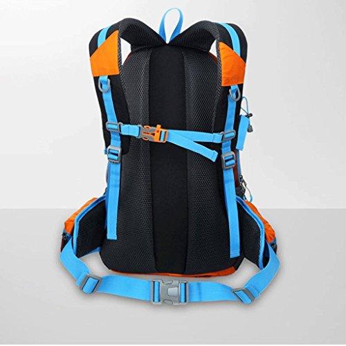 Pathfinder Pionier im Freien Wanderrucksack Tasche wasserdicht Stoffbeutel neu Blau