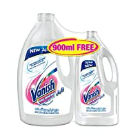 Vanish Laundry Stain Remover White 3L + 900ml