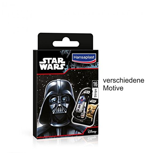 HANSAPLAST Junior Star Wars Strips 16 St