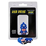 Captain America Marvel Flash Drive – USB Memory Stick Avengers (2GB)