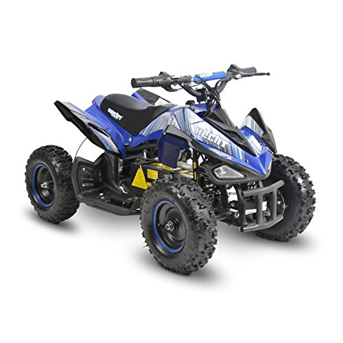 Hecht Akku-Quad Miniquad Elektroauto Akku-Kinderauto Pocketbike (blau)