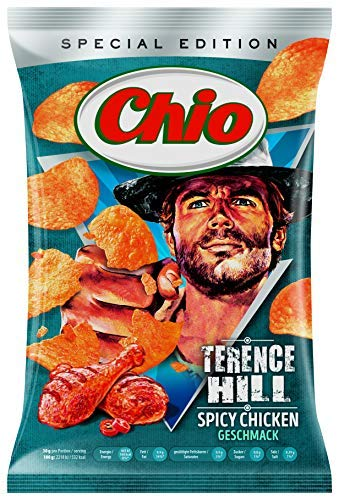 Preisvergleich Produktbild Chio Limited Edition! Chio Chips Terence Hill,  150 g