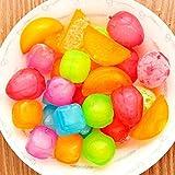 SahiBUY 18 Pieces Plastic Ice Cubes Frui...
