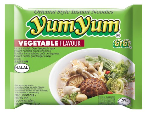 Carton 30 Soupes Nouilles Yum Yum Légumes 60g