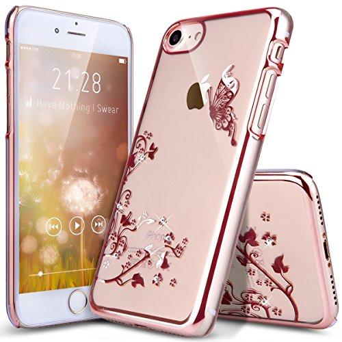 iphone-7-hulleikasusr-iphone-7-hardcase-hulle-kristallklar-durchsichtigmalerei-butterfly-schmetterli