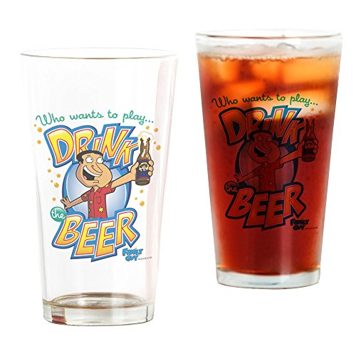 CafePress-Family Guy Drink das Bier-Pint-Glas, 16oz Trinkglas farblos Family Guy Bier