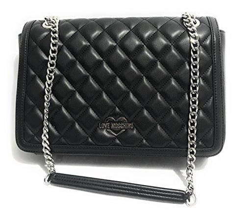 Love Moschino Superquilted Sac à bandoulière noir