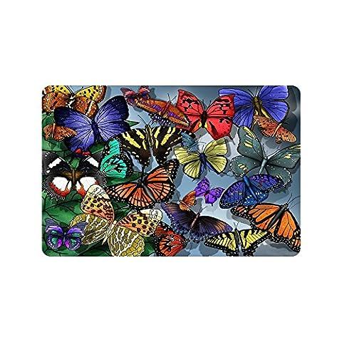 Superbe Papillon Paillasson Tapis d