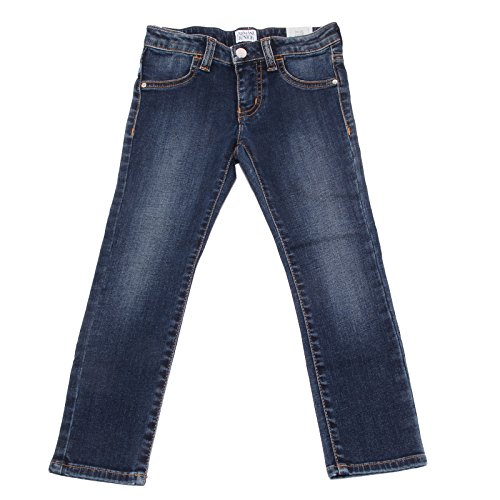 6674U Jeans Bimba Armani JUNIOR Blu Denim Pant Trouser Kid [12 years] - Armani Junior