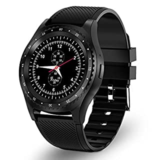 Smart Watch Bluetooth Fitness Tracker with SIM and TF Card Slot Sleep Monitor Incoming call Information reminder waterproof sport watch Compatible with Android phone