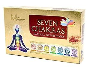 Set de incienso 7 chakras,